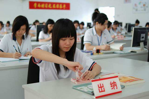 武汉市东西湖职业技术学校会计电算化专业