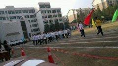武汉机电工程学校田径运动会
