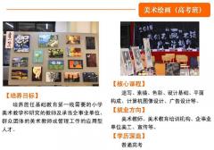 武汉市洪山外经贸学校美术绘画专业介绍