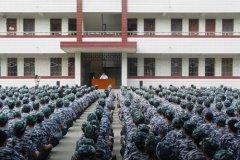武汉铁路学校军训动员
