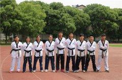 武汉市东西湖职业技术学校跆拳道社团