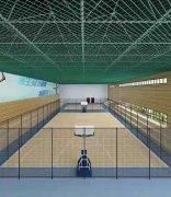 武汉市智工职业技术学校室内篮球场